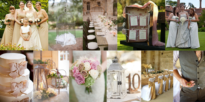 Shabby vintage wedding