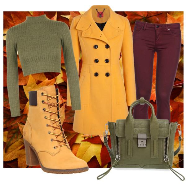 Какой цвет в моде осень 2015