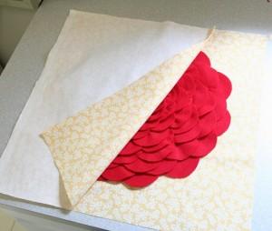 подушка с розой 11