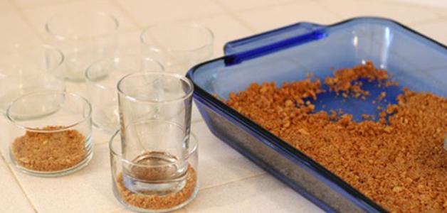 Десерт в стакане рецепт с фото