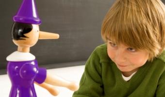 Детская ложь или почему дети врут