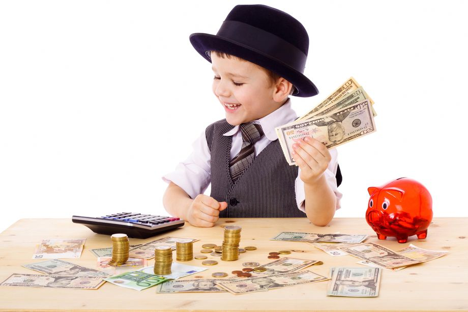 Сколько денег давать детям