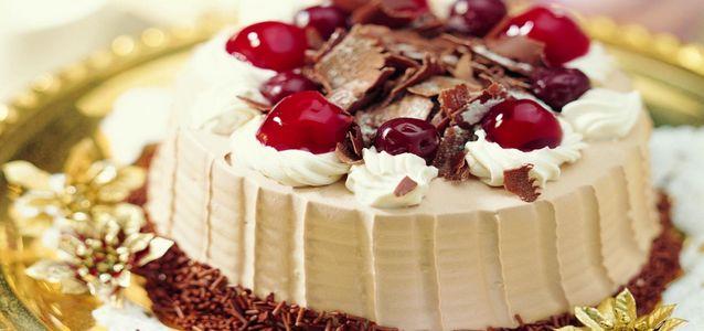 домашний торт с вишней рецепты