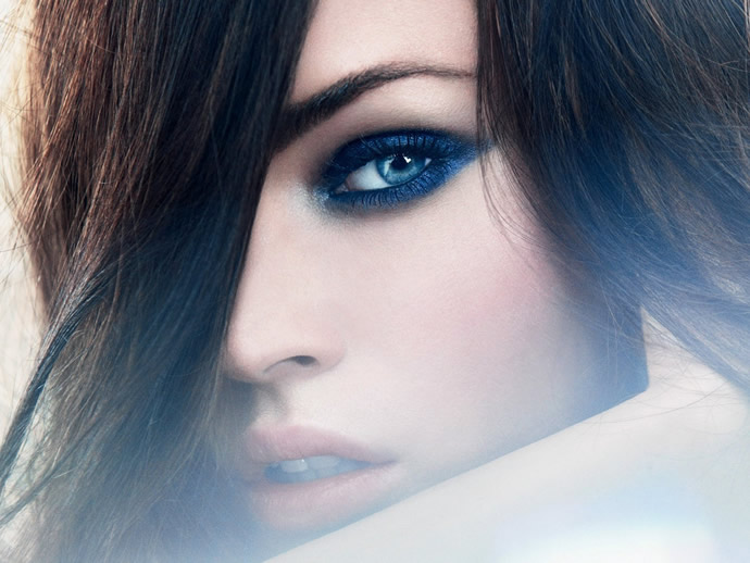 Дымчатый макияж глаз фото