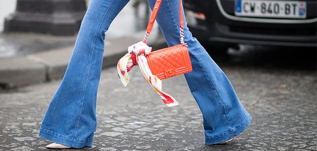 Джинсы-клеш – мода возвращается