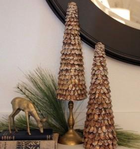 елка из шишек 3