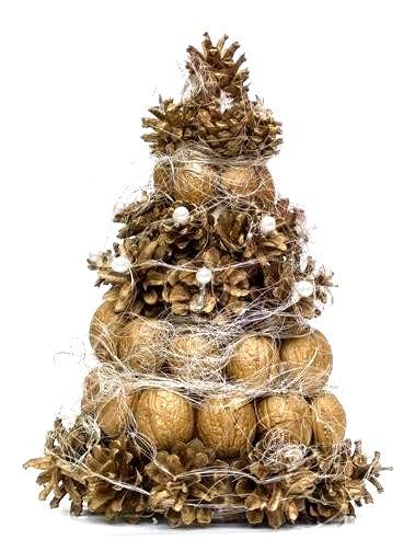 Поделки елочка своими руками из природного материала