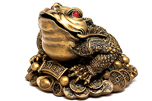 Фен-шуй лягушка
