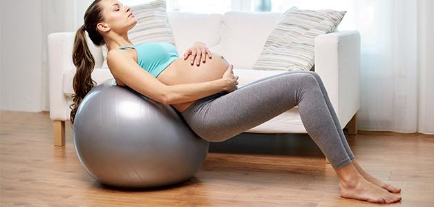 Польза фитбола при беременности