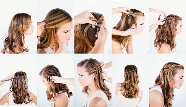 Модные плетения волос