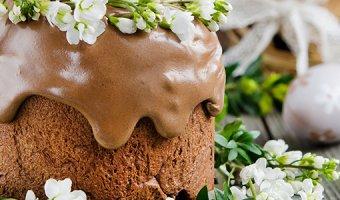 Глазурь для кулича – простые рецепты украшения выпечки