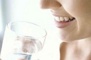 употребление воды во время голодания