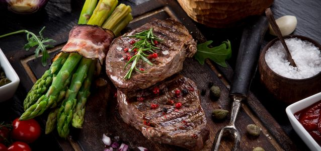 жарить говядину на мангале