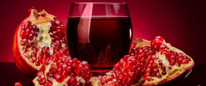 Полусладкое гранатовое вино