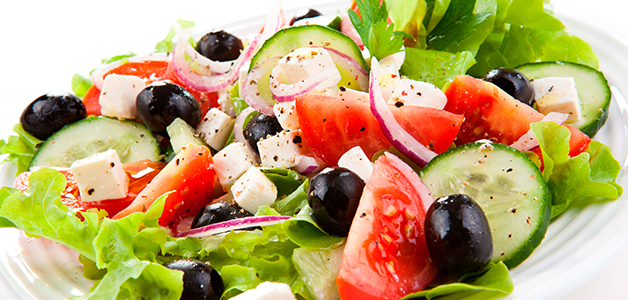 Греческий салат - пошаговые рецепты