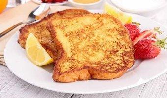 Гренки с яйцом – простые рецепты закуски