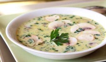 Грибной суп-пюре – рецепты на любой вкус
