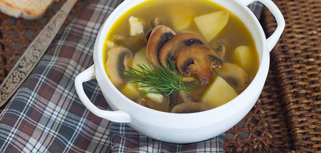 Грибной суп при диабете