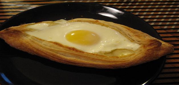 Хачапури по-аджарски пошаговый рецепт