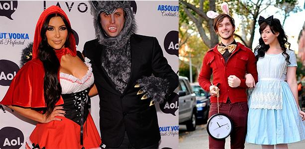 Пара на хэллоуин