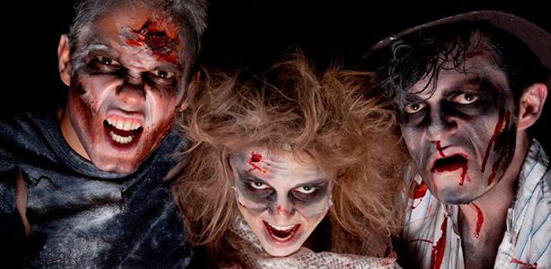 Образ на хэллоуин для пары
