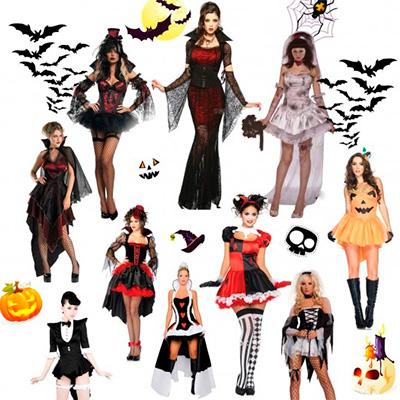Костюм на хэллоуин для девушки55