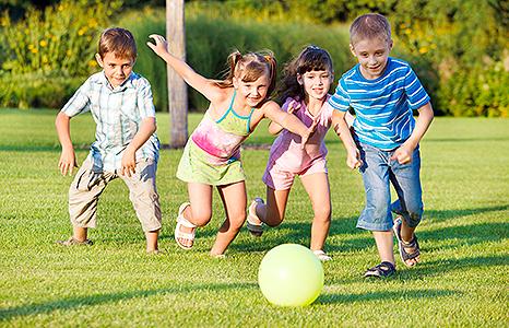 игры на природе с мячом