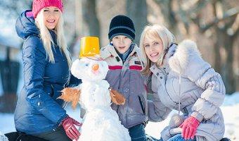 Игры для детей на улице зимой – варианты развлечений