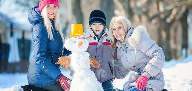 Игры для детей на улице зимой - варианты развлечений