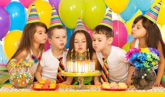 Игры и конкурсы для детского Дня Рождения