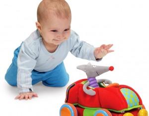 Развивающие игры для ребенка до года