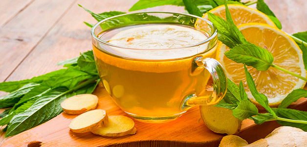 Чай с имбирный в домашних условиях 459
