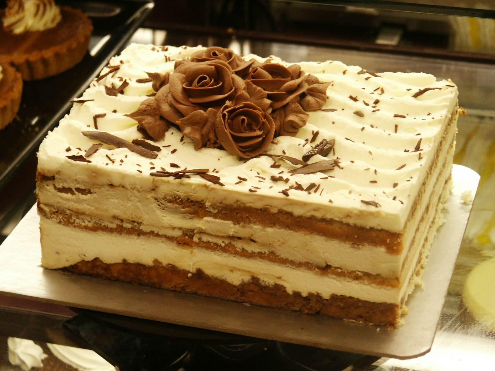 Итальянские десерты - торт тирамису