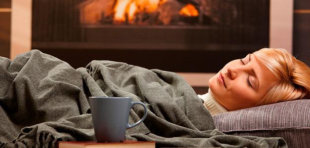 Как легко проснуться зимой