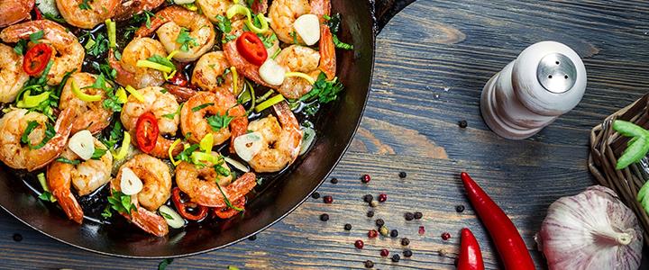 Как вкусно приготовить королевские креветки – 5 способов