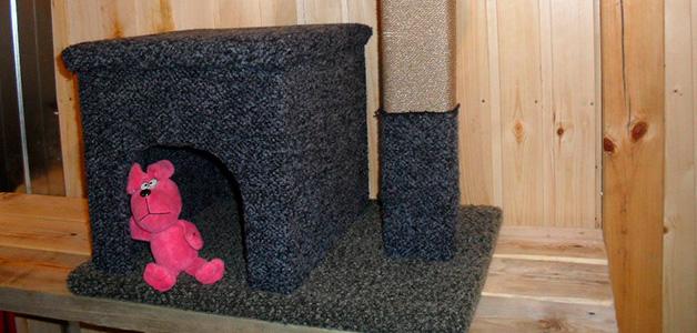Домик для кошки своими руками чертежи