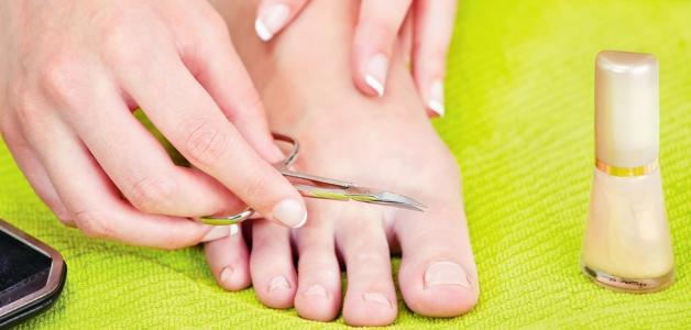 стричь ногти на ногах правильно