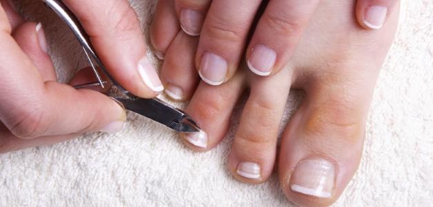 как стричь ногти на ногах