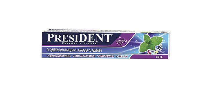Зубная паста подросткам