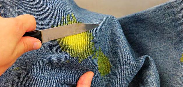 Как вывести краску в домашних условиях – чем отстирать одежду и удалить