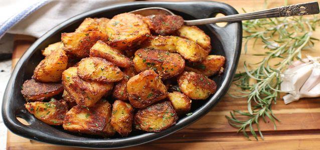 картошка на мангале рецепт
