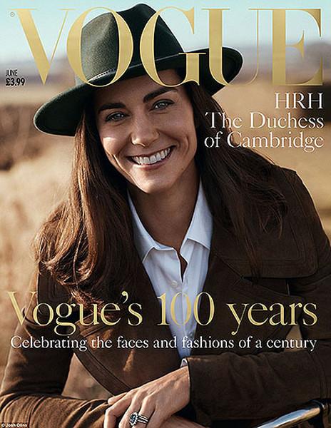 Кейт Миддлтон и Vogue
