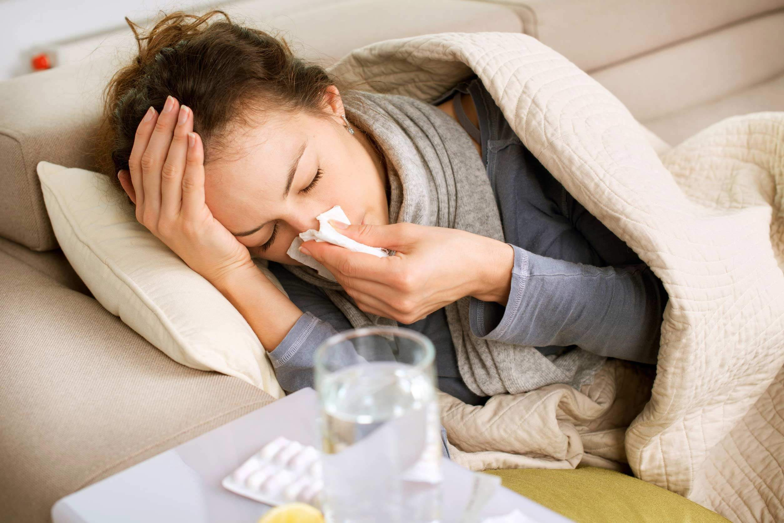 Беременность после простуды 22 фотография