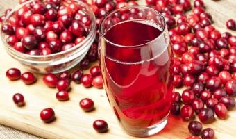 Клюквенный сок – состав, польза и противопоказания