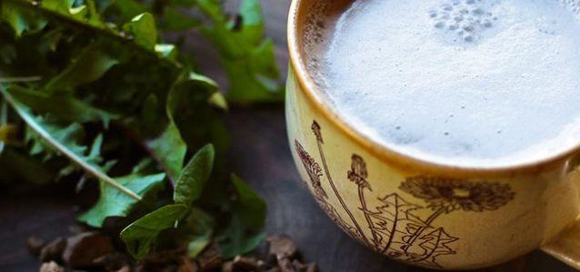 приготовить кофе из одуванчиков