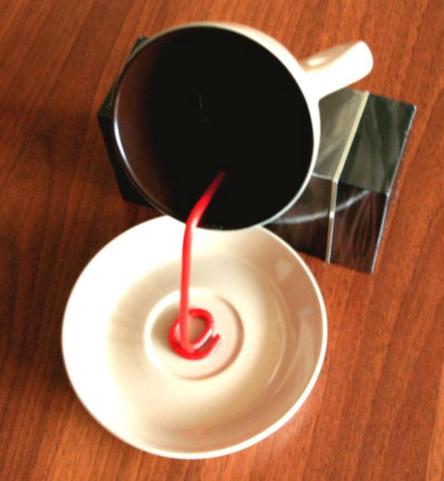 Как сделать чашку кофе 495