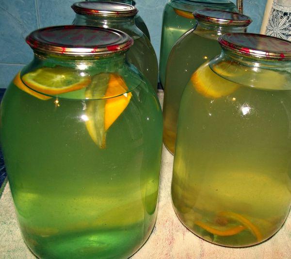 Сок березовый закатать с апельсином