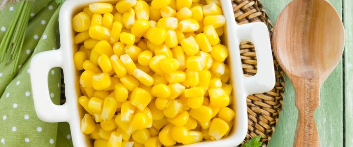 Консервированная кукуруза в зернах