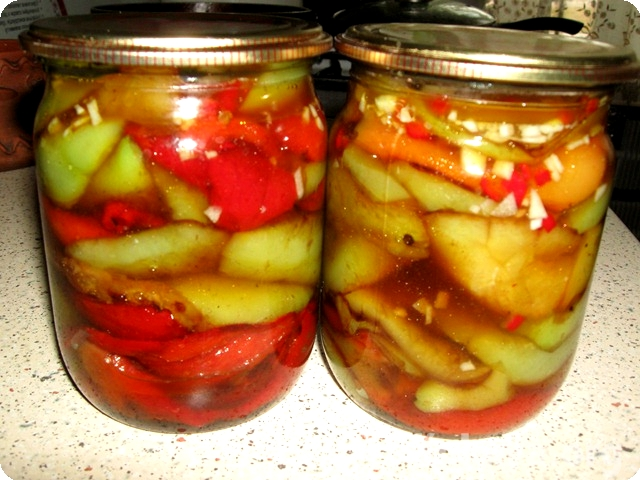 перец жареный заготовки на зиму рецепты