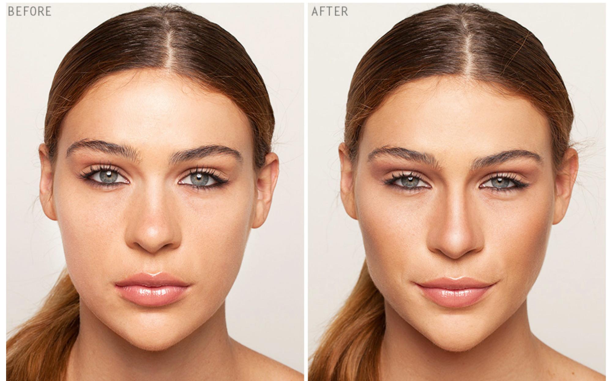 Как сделать лицо маленьким худым